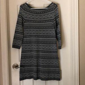AE boat neck sweater dress